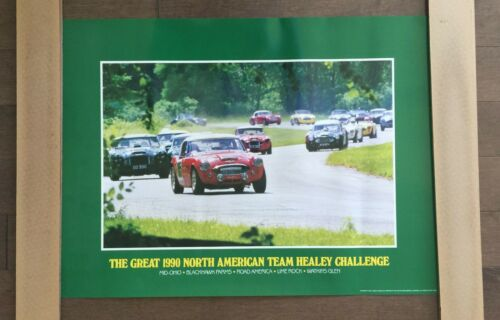 Austin-Healey Challenge Poster, printed in 1991