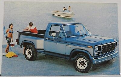 STEPSIDE PICKUP TRUCK PROMO BETTER IDEA 1980 80 FORD DEALER DEALERSHIP