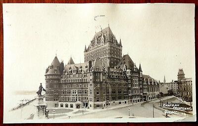 Chateau Frontenac, Quebec. W. B. Edwards Post Card