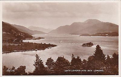 Loch Lomond & Ben Lomond, Nr LUSS, Dunbartonshire RP