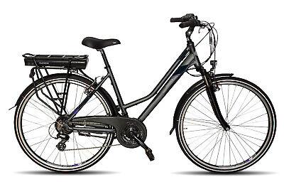 Telefunken Trekking E-Bike XT469 Expedition  Alu Damen Fahrrad 28 Zoll, 21 Gang