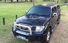 2009 Nissan Navara D40 ST(4x4) black 6 Speed Manual Dual Cab East Victoria Park Victoria Park Area Preview