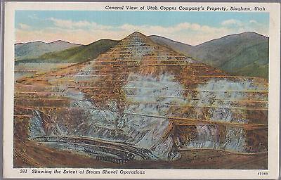 Utah Copper Company Bingham Utah    #D23