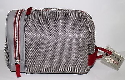 Dolce Gabbana The One Sport  Mens Grey Cosmetics / Toiletry / Wash / Shave Bag