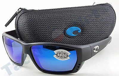 331d3b7f760 Costa TA11OBMGLP Tuna Alley Sunglasses 580G Blue Mirror Lens Matte Black  Frame!