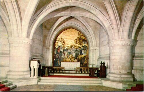 Washington Cathedral Mt St Alban Washington DC Vintage Postcard