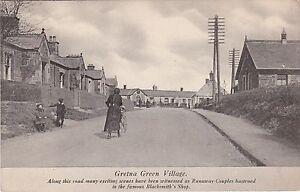 Street Scene, GRETNA GREEN, Dumfriesshire