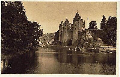 CPA-Carte postale- France -MORBIHAN- JOSSELIN - Son Château  (iv 652)