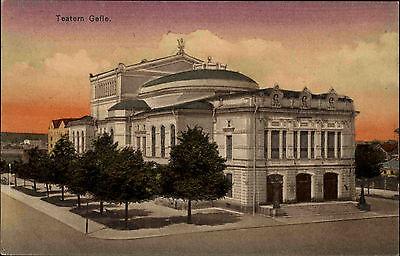 Gävle Gefle Schweden Sverige Gästrikland AK 1920 Teatern Theater Gebäude Byggnad
