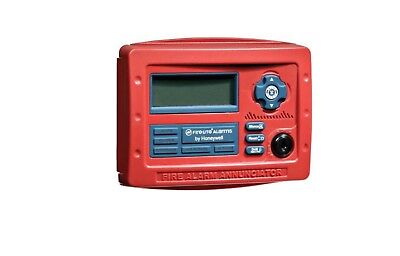 Fire-lite Alarms-honeywell Ann-80 Remote Lcd Annunciator Red