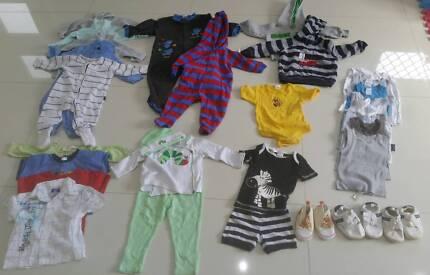 Baby Boy Size 0 Clothing
