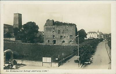 Ansichtskarte Am Rüdesheimer Schloß steht eine Linde  (Nr. 997)