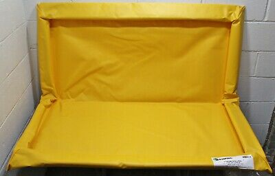 Enpac 4-drum Spillpal Spill Containment Pallet 5760-ye Yellow 29 Gal 4 X 4