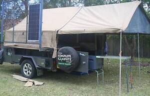 Complete Campsite - Nomad 13 Extreme - Camper Trailer Killarney Heights Warringah Area Preview