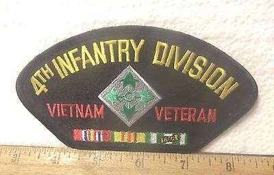 US Army - 4th Infantry Division - Vietnam Veteran Embroidered Patch