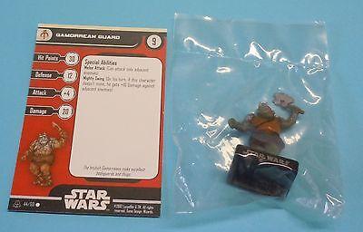 Star Wars Miniatures Alliance Empire Gamorrean Guard #44/60 NEW NIB Minis