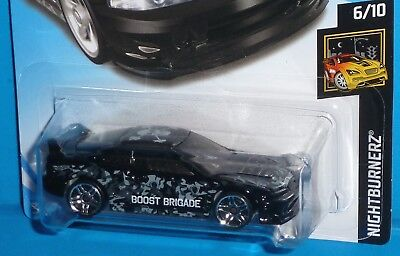 2017 HOT WHEELS '01 Acura Integra GSR Col.#17/365 Nightburnerz Black #6/10 50th