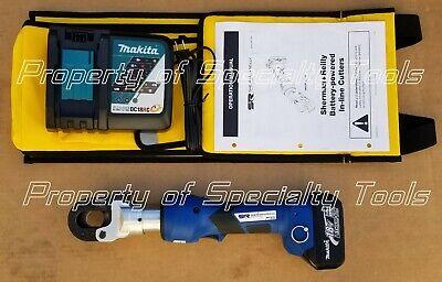 Sherman Reilly Srg98x Battery Hydraulic Acsr Cable Cutter Greenlee Gator Esg25lx