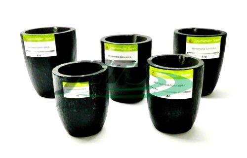 Morgan Salamander Crucible Super Clay Graphite A6, A8, A10, A12 for Melting Gold
