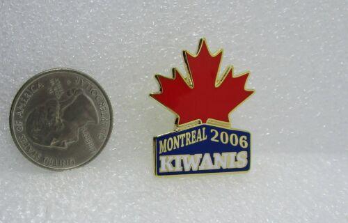 2006 Kiwanis International Montreal Pin