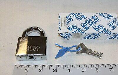 Abloy Model 3081 Padlock W 2 Keys A Key I.d. Security Tag - New