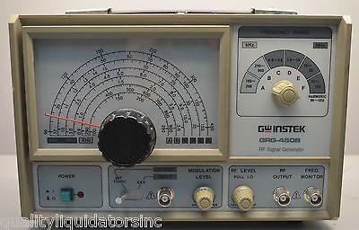 Gw Instek Rf Signal Generator Grg-450b Nice