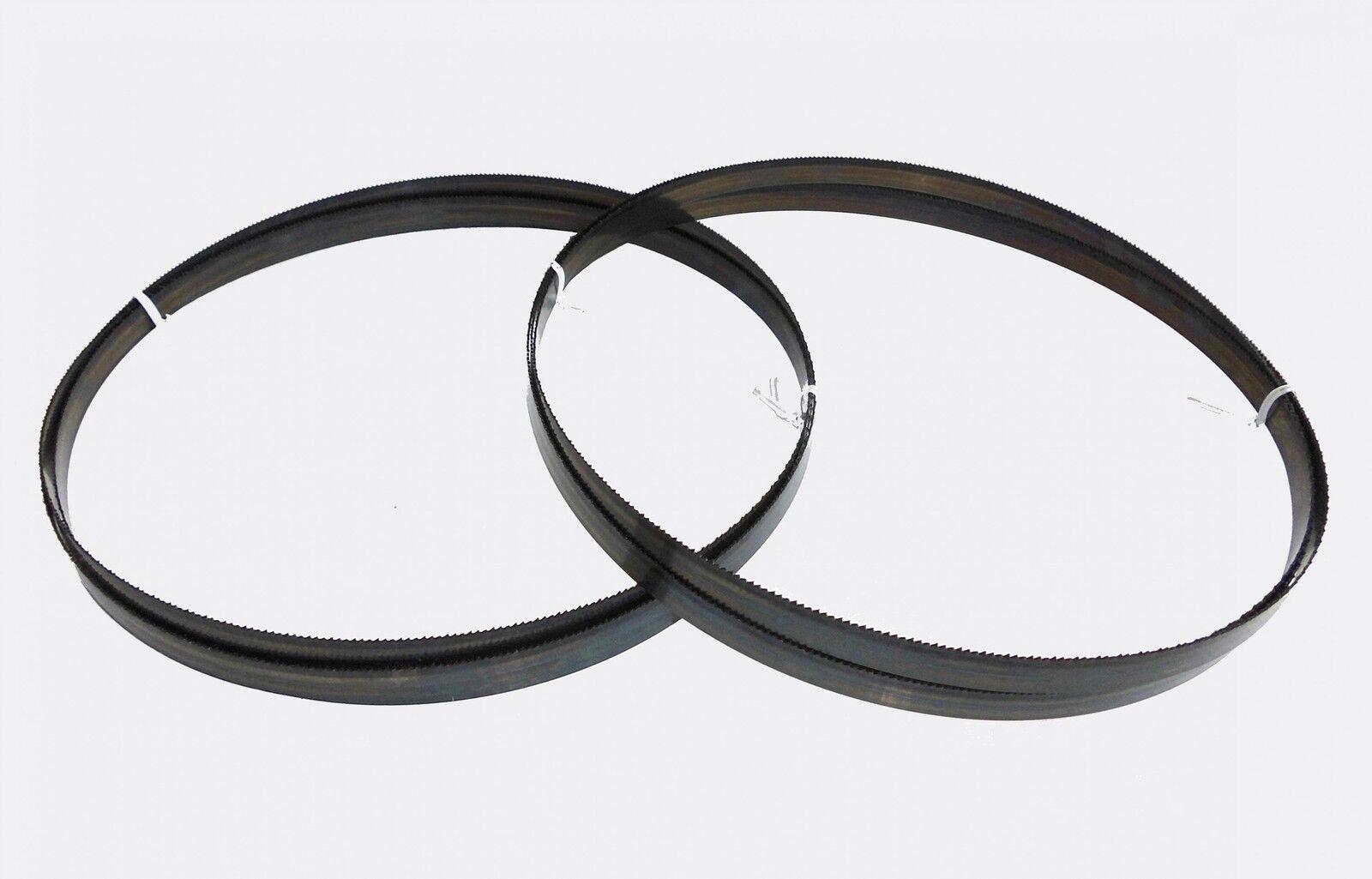 2 X Sägebänder Sägeband 2240 Mm X 13 Mm X 0,65 Mm 14 Zpz Metall Rohre Metabo