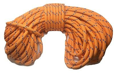 Double Braid Polyester 34x200 Ft Arborist Rigging Tree Bull Rope