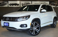 2017 Volkswagen Tiguan Highline Markham / York Region Toronto (GTA) Preview