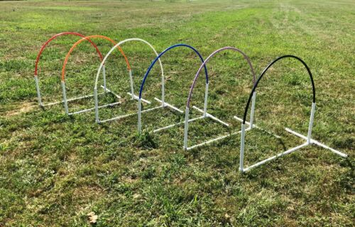 NADAC Dog Agility Equipment Arched style Hoop - 6 Colors Available FREE Shipping