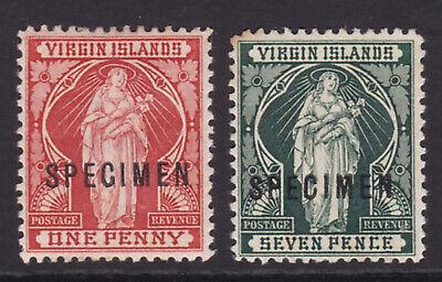 Virgin Islands. 1899. SG 44s & 48s specimens. Mounted mint.
