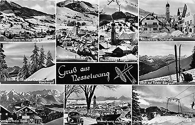Bg23814  Gruss Aus Nesselwang Ski Cable Train   Germany Cpsm 14X9cm