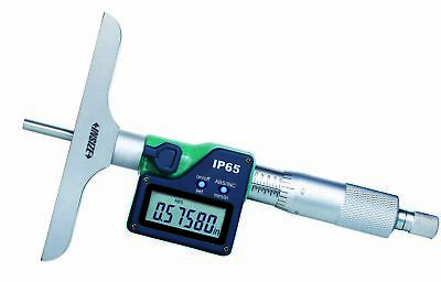 Insize Electronic Digital Depth Micrometer 0-120-300mm 3540-300e