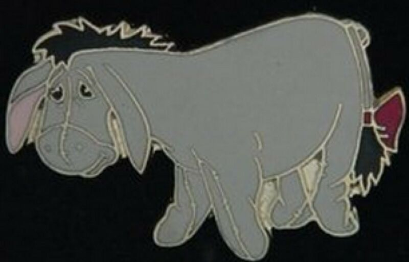Eeyore~Highly Desired Pin!!!~Classic~Vintage!~Disney Pin~Cloisonné~Yesteryear