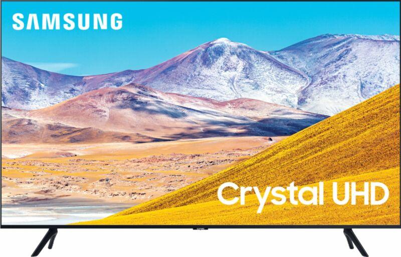 """Samsung - 50"""" Class 8 Series LED 4K UHD Smart Tizen TV"""