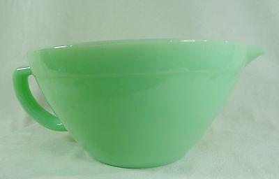 Batter Bowl Jadeite Green Milk Glass Jadite RETRO