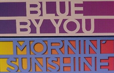 LIPSTICK QUEEN BLUE BY YOU AND MORNIN' SUNSHINE, W/BOX