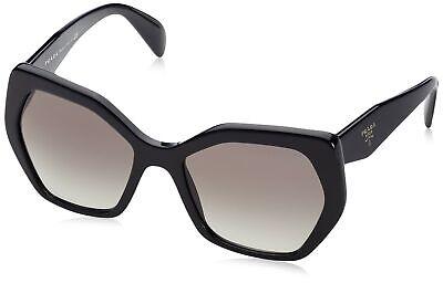 Prada Women's Black/Grey Gradient, sunglasses 0PR16RS 1ABA07 56mm