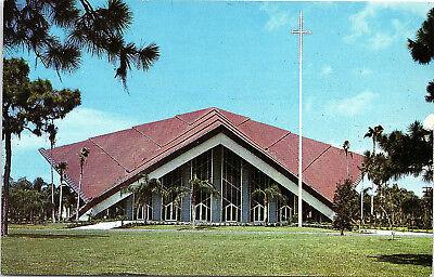 St  Petersburg  Florida  Pasadena Community Church   Postcard  Q