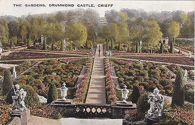 The Gardens, Drummond Castle, CRIEFF, Perthshire