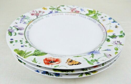 3 Marjolein Bastin WILDFLOWER MEADOW Dinner Plates