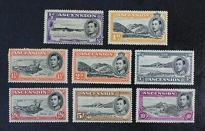 CKStamps: Ascension Stamps Collection Scott#40/49 Mint H OG