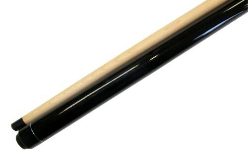 """58"""" - 2 Piece Break Pool Cue - Billiard Stick Hardwood Canadian Maple 23 Ounce"""