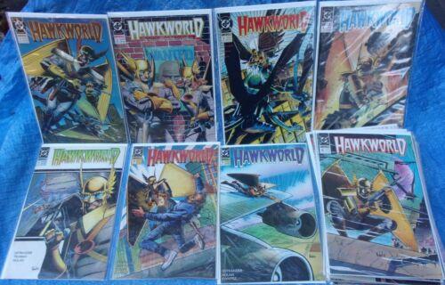 DC Comics Hawkworld 20 Issue Lot 1 2 3 4 6 8 11 12 13 14 18 19 20 21 25 26 30 32