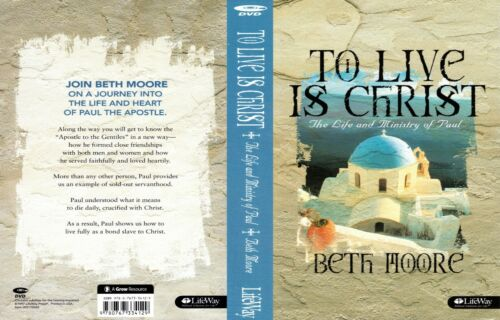 BETH MOORE TO LIVE IS CHRIST 6 DVDS SET