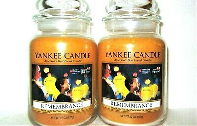 Memorial Candle Set - SET OF 2 Yankee Candle