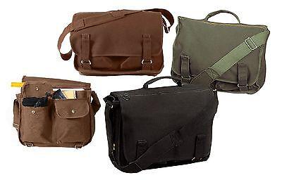 European Style School Bags - Canvas Versatile Shoulder Messe