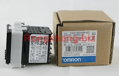Omron E5cc-qx2asm-802 Temperature Controller 100-240vac Thermostat Plc New