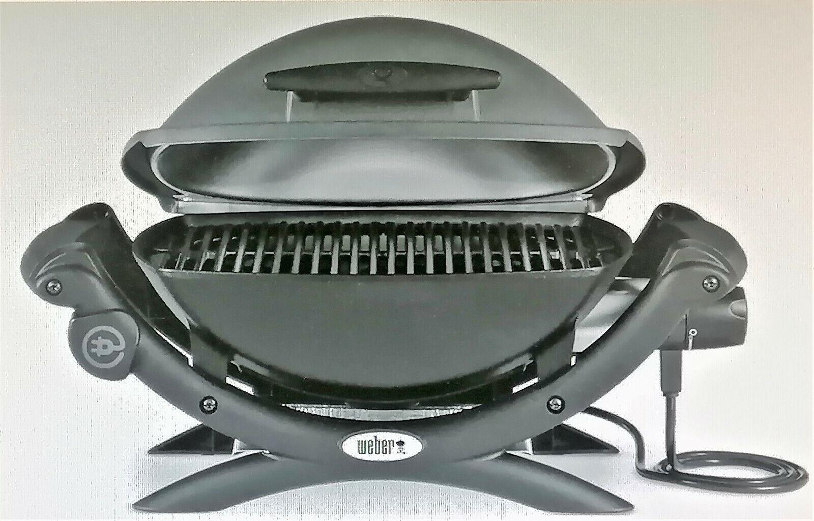 Weber Q1400 Dark Grey Elektrogrill 2200Watt
