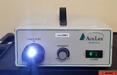 Aculux Ax3001 300 Watt Xenon Light Source Storz Olympus Inv 2691